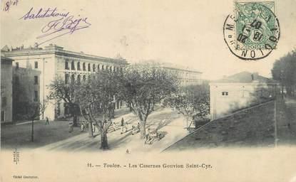 """CPA FRANCE 83 """"Toulon, Les Casernes Gouvion St Cyr"""""""