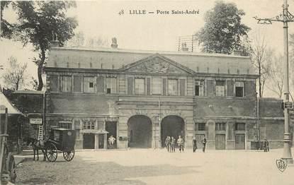 """CPA FRANCE 59 """"Lille, Porte Saint André"""""""