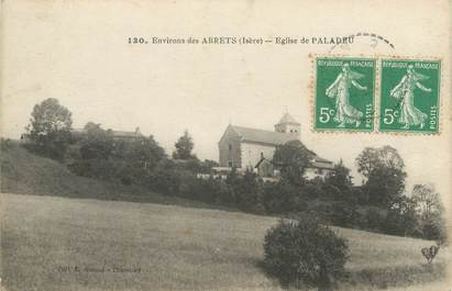 """CPA FRANCE 38 """" Paladru, L'église"""""""