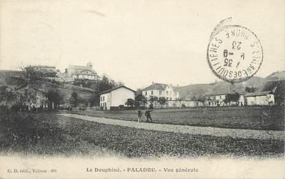 """CPA FRANCE 38 """" Paladru, Vue générale"""""""