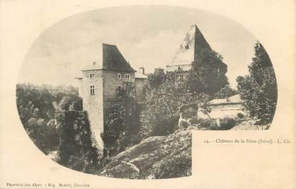 """CPA FRANCE 38 """" La Sone, Le château """""""