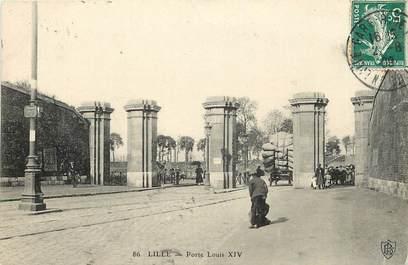 """CPA FRANCE 59 """"Lille, Porte Louis XIV"""""""