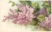 """Fantaisie CPA  FANTAISIE  """" fleurs """" /  Editeur AMB"""