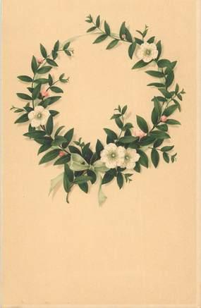 """CPA  FANTAISIE  """"  fleurs """" /  Editeur AMB"""