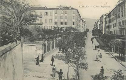 """CPA FRANCE 20 """" Corse, Ajaccio, Cours Napoléon"""""""