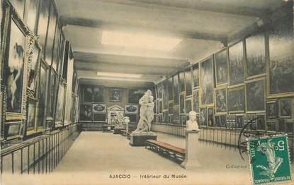"""CPA FRANCE 20 """" Corse, Ajaccio, Intérieur du Musée"""""""