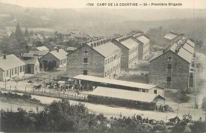 """CPA FRANCE 23 """" La Courtine, Le camp"""""""
