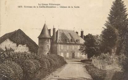 """CPA FRANCE 23 """" Environs de La Celle Dunoise, Château de la Barbe"""""""