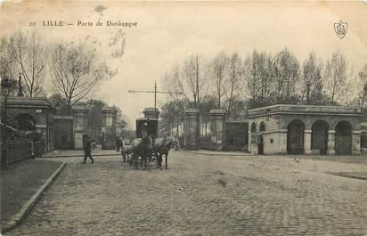 "CPA FRANCE 59 ""Lille, Porte de Dunkerque"""