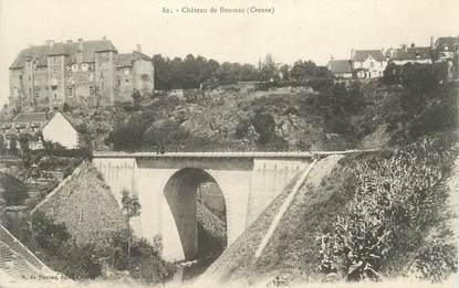 """CPA FRANCE 23 """" Boussac, Le Château"""""""
