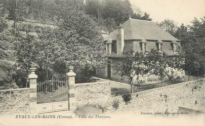 """CPA FRANCE 23 """" Evaux les Bains, Villa des Thermes"""""""