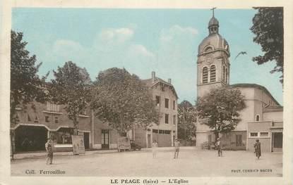"""CPA FRANCE 38 """"Le Péage de Roussillon, L'église"""""""