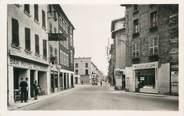 """38 Isere CPA FRANCE 38 """"Le Péage de Roussillon, Rue Grande et Place de la Halle"""""""