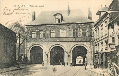 "CPA FRANCE 59 ""Lille, Porte de Gand"""