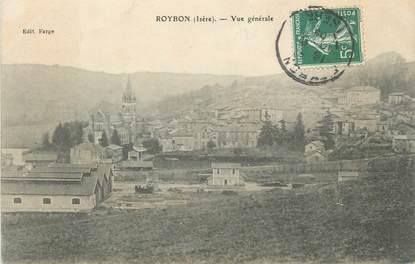 "CPA FRANCE 38 ""Roybon, Vue générale"""