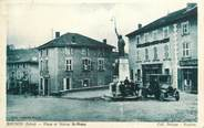 "38 Isere CPA FRANCE 38 ""Roybon, Place et Statue St Romme"""