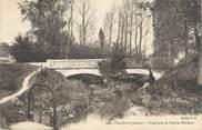"""38 Isere CPA FRANCE 38 """"Chanas, Pont sur la petite rivière"""""""