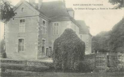 "CPA FRANCE 38 ""St Geoire en Valdaine, Le Château de Longpra """
