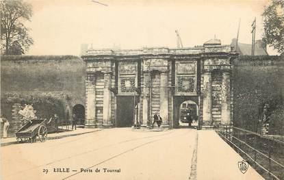 "CPA FRANCE 59 ""Lille, Porte de Tournai"""