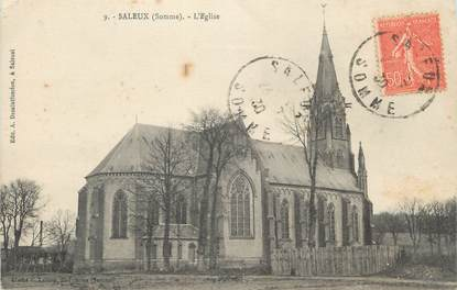 "CPA FRANCE 80 ""Saleux, L'église"""