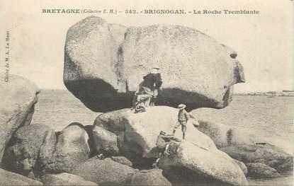 "CPA FRANCE 29 "" Brignogan, La Roche Tremblante"""