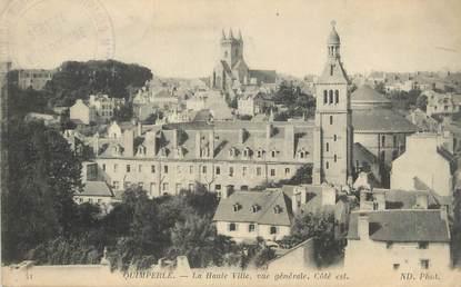 """CPA FRANCE 29 """" Quimperlé, La haute ville """""""