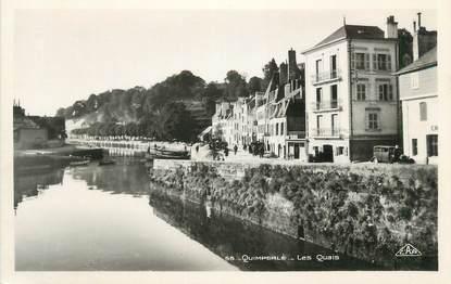 """CPSM FRANCE 29 """" Quimperlé, Les Quais"""""""