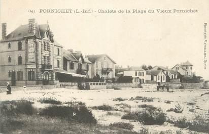 """CPA FRANCE 44 """" Pornichet, Chalets de la Plage du Vieux Pornichet"""""""