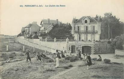 """CPA FRANCE 44 """" Pornichet, Les chalets des Dunes"""""""
