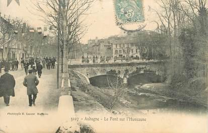 """CPA FRANCE 13 """" Aubagne, Pont sur l'Huveaune"""""""