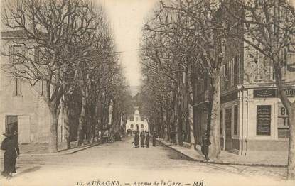 "CPA FRANCE 13 "" Aubagne, Avenue de la gare"""