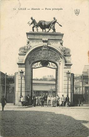 "CPA FRANCE 59 ""Lille, Abattoir"""