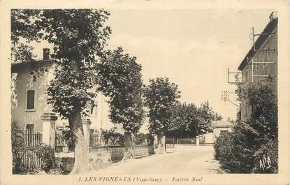 """CPA FRANCE 84 """" Les Vignères"""""""