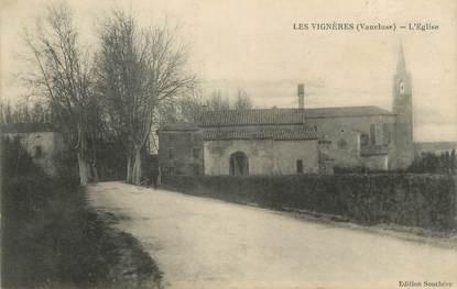 """CPA FRANCE 84 """" Les Vignères, L'église"""""""