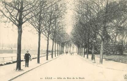 """CPA FRANCE 59 """"Lille, Allée du Bois de la Deule"""""""
