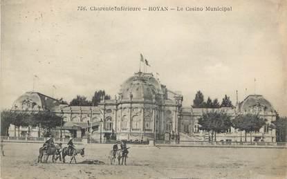 "CPA FRANCE 17 "" Royan, Le casino municipal"""