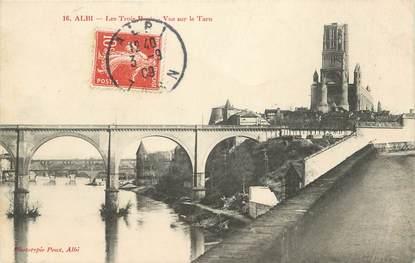 """CPA FRANCE 81 """" Albi, Les Trois Ponts"""""""