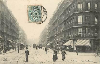 """CPA FRANCE 59 """"Lille, Rue Faidherbe"""""""