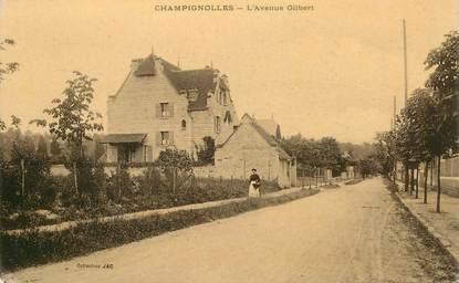 "CPA FRANCE 27 ""Champignolles, l'avenue Gilbert"""