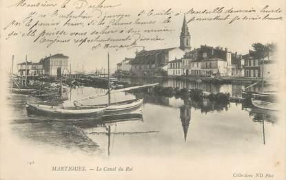 "CPA FRANCE 13 ""Martigues, Le Canal du Roi"""
