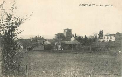 """CPA FRANCE 24 """"Montcaret, vue générale"""""""