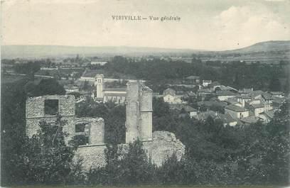"""CPA FRANCE 38 """"Viriville, Vue générale"""""""