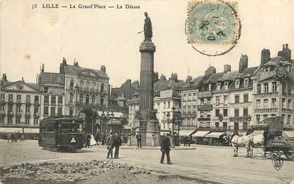"""CPA FRANCE 59 """"Lille, La Gran'Place"""""""