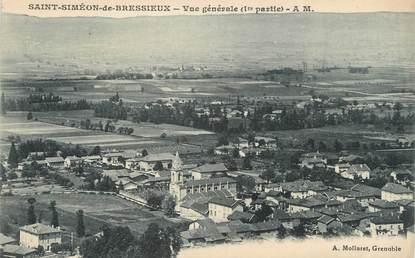 """CPA FRANCE 38 """" St Siméon de Bressieux, Vue générale"""""""