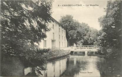 "CPA FRANCE 21 ""Champdotre, le moulin"""
