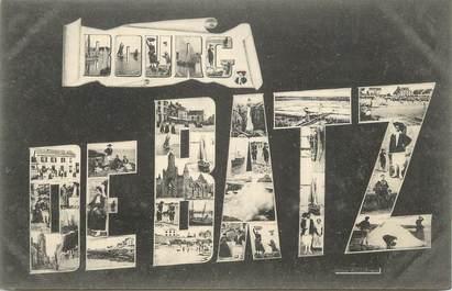 """CPA FRANCE 44 """" Bourg de Batz, Vues"""""""