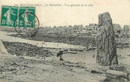 """CPA FRANCE 44 """" Batz sur Mer, Le monolithe """""""