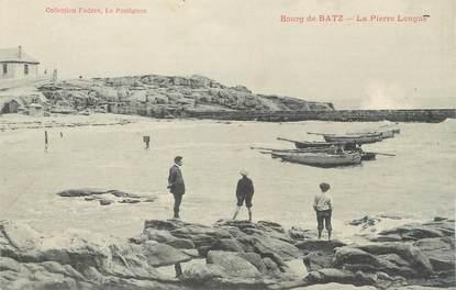 """CPA FRANCE 44 """" Bourg de Batz, La Pierre Longue"""""""