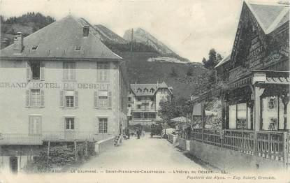 """CPA FRANCE 38 """" St Pierre de Chartreuse, L'Hôtel du Désert"""""""