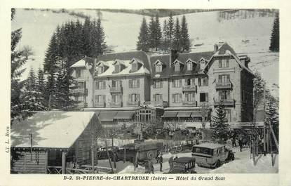 """CPA FRANCE 38 """" St Pierre de Chartreuse, L'Hôtel du Grand Som"""""""